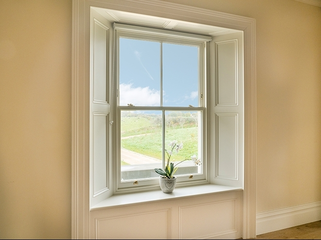 The benefits of wooden sash windows
